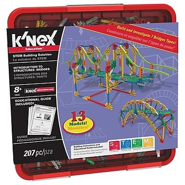 K'nex - Trousse d'activités Intro To Structures : Bridges , 3e à 5e années