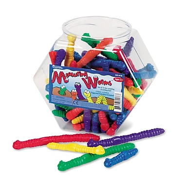 Learning Resources® Measuring Worms Set, Grades Prek+