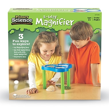 Learning Resources® Primary Science 3-Way Magnification Science Station