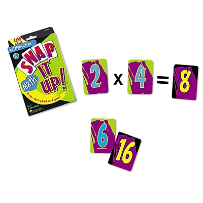 Learning Resources Snap It Up! Multiplication Card
