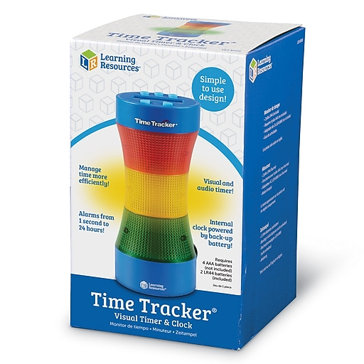 learning resources visual timer and clock staples