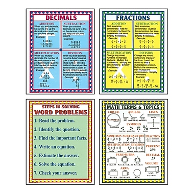 McDonald Publishing Poster Set, Test-Taking Math, 18/Pack (MC-P140)