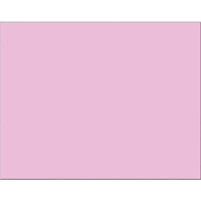 Pacon® 4-Ply Railroad Poster Board, Pink
