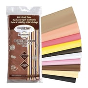 "Pacon Kolorfast 30"" x 20"" Multi-cultural Tissue Paper, Assorted, 20 Sheets, 160/Pack (PAC58590)"