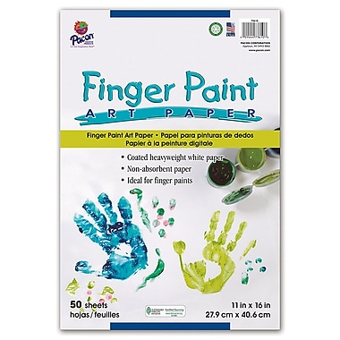 Pacon Finger Paint Paper, 11