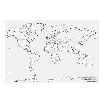 Pacon® Corporation® Learning Walls® World Map