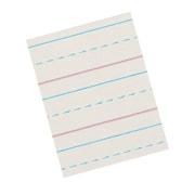 "Pacon® Zaner-Bloser™ Broken Midline Newsprint Paper, Grades 3rd, 1/2"" - 1/4"" Rule Size"