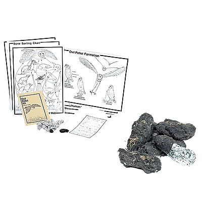 Pellets Inc. Owl Pellet Kit, Deluxe Traditional Classroom Kit