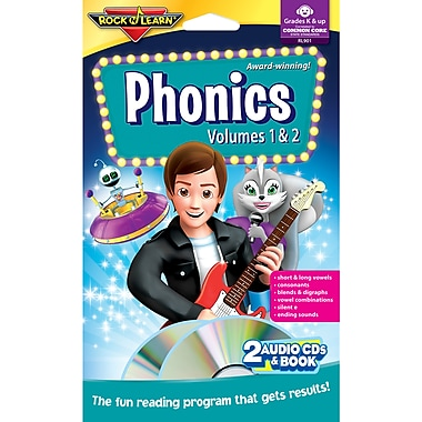 Rock 'n Learn® Phonics Audio Cds/book, Volumes 1 And 2