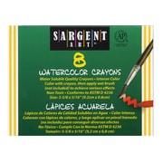 Sargent Art Watercolour Crayon, 8/box, 32/Pack (SAR221108)