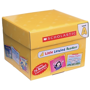 Scholastic - Boîte level A: Little Level Readers