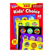 Trend Enterprises Stinky Stickers, Kid's' Choice, 960/Pack (T-089)