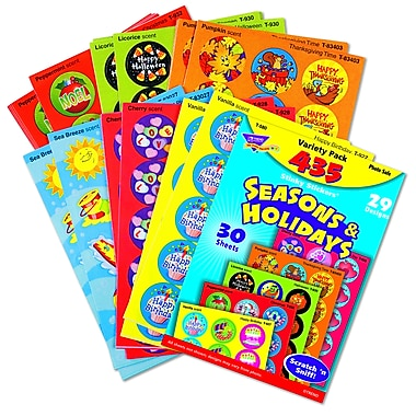 Trend Enterprises® Stinky Stickers, Seasons And Holidays