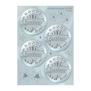 Trend Enterprises Award Seals Stickers, Excellence, Silver, 480/Pack (T-74004)