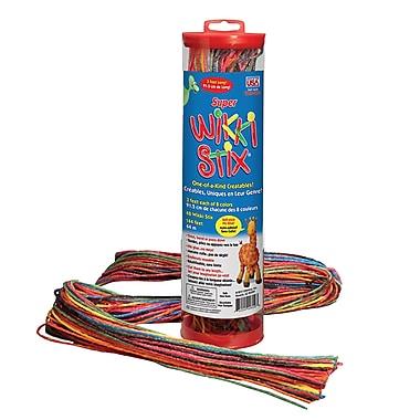 Wikki Stix® Super Wikki Stix® Perfect Craft Toy, Assorted