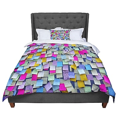East Urban Home Trebam Respekt Rainbow Paper Comforter; Twin