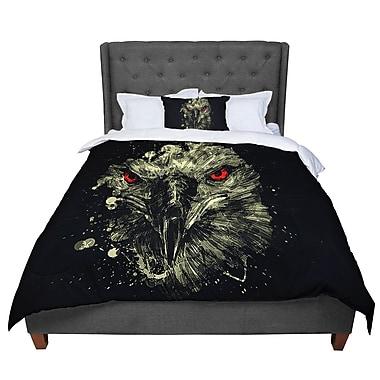 East Urban Home BarmalisiRTB Eagle Comforter; King