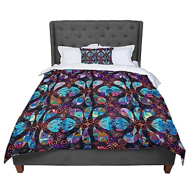 East Urban Home Suzanne Carter Pattern Abstract Comforter; Queen