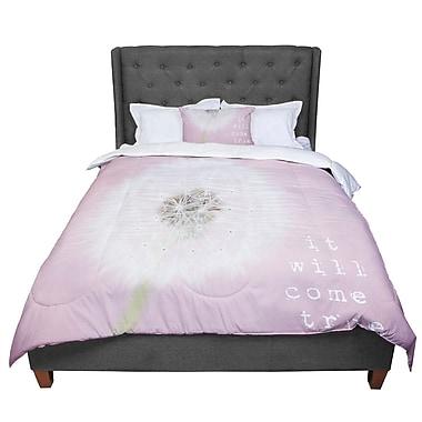 East Urban Home Susannah Tucker It Will Come True Flower Comforter; King