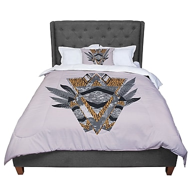 East Urban Home Vasare Nar Indian Feather Comforter; Twin
