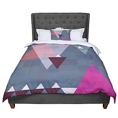 East Urban Home Suzanne Carter Geo II Geometric Comforter; Queen