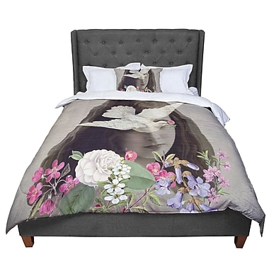 East Urban Home Suzanne Carter Doves Eyes Comforter; Twin