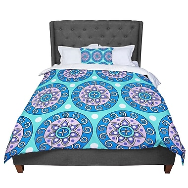 East Urban Home Sarah Oelerich Mandala Dot Comforter; Twin
