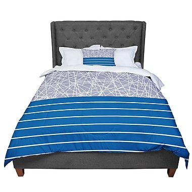 East Urban Home Trebam Odvojen Abstract Comforter; Twin