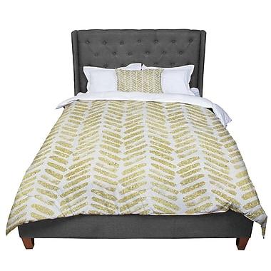 East Urban Home 888 Design Golden Vision Comforter; King