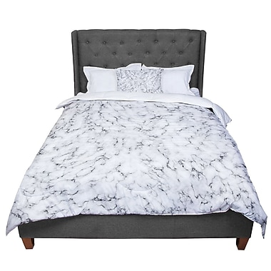 East Urban Home Will Wild Marble Comforter; King