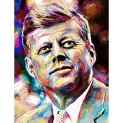 East Urban Home 'John Fitzgerald Kennedy' by Pat Spark Graphic Art Print on... by