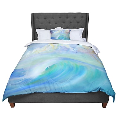 East Urban Home Theresa Giolzetti Jelly Fish Comforter; Queen