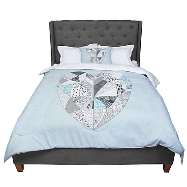 East Urban Home Vasare Nar Comheartment Comforter; Twin