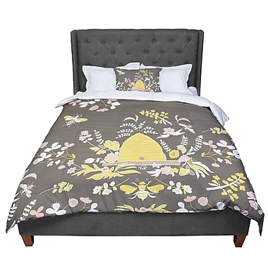 East Urban Home Very Sarie Hope for the Flowers II Comforter; King