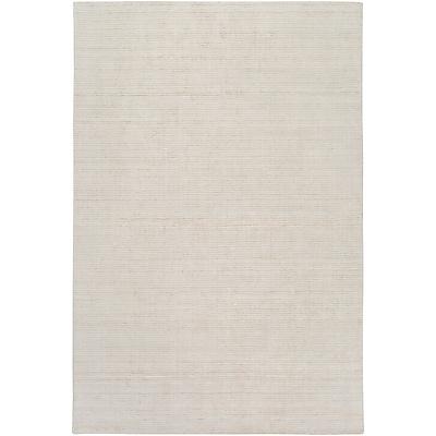 Highland Dunes Chesterbrook Hand-Loomed Khaki/Light Gray Area Rug; 5' x 7'6''