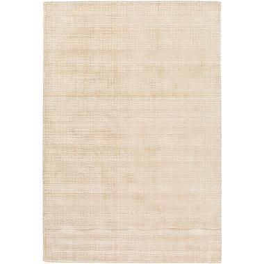 Highland Dunes Chesterbrook Hand-Loomed Tan/Khaki Area Rug; 9' x 13'