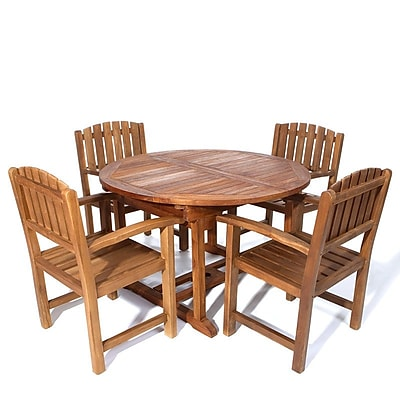 Longshore Tides Humphrey Traditional 5 Piece Dining Set