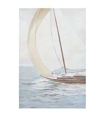 Highland Dunes Sail Away Painting Print
