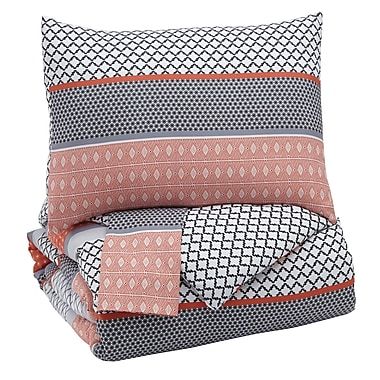 Red Barrel Studio BriarCreek 3 Piece Comforter Set; King