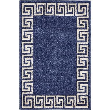 Willa Arlo Interiors Cendrillon Blue Area Rug; 2'2'' x 3'