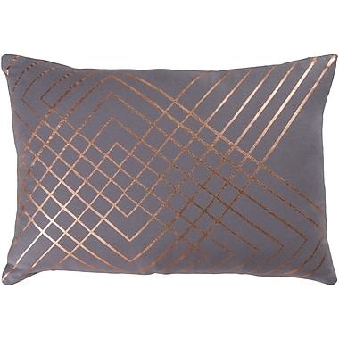 Willa Arlo Interiors Caressa Geometric Cotton Throw Pillow; 22'' H x 22'' W x 4'' D