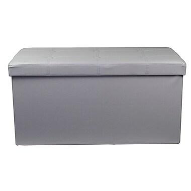 Rebrilliant Storage Bench; Gray