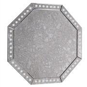 Rosdorf Park Traditional Gray Glass Wall Mirror