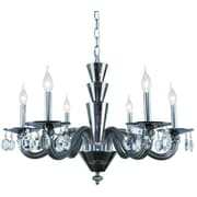 Rosdorf Park Felisa 6-Light Contemporary Candle-Style Chandelier