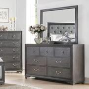 Rosdorf Park Florine Rectangular Dresser w/ Mirror