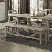 Union Rustic Moen Wood Dining Bench