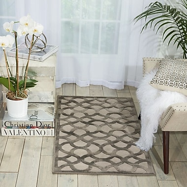 Willa Arlo Interiors Blondelle Abstract Beige Area Rug; 2'2'' x 3'9''