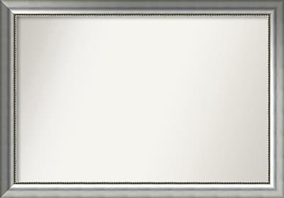 Willa Arlo Interiors Burnished Silver Wood Wall Mirror; 32.75'' H x 46.75'' W x 1.5'' D WYF078281672903