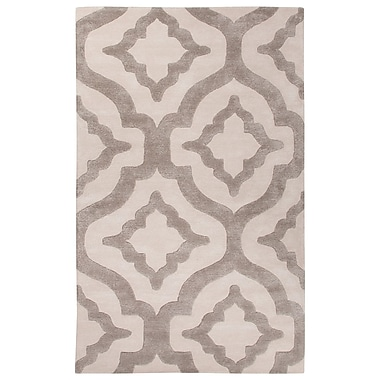 Willa Arlo Interiors Blondell Hand-Tufted Ivory/White Area Rug; 2' x 3'