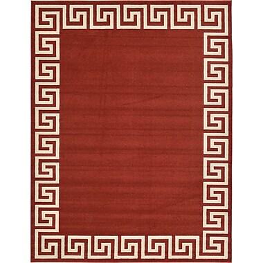 Willa Arlo Interiors Cendrillon Terracotta Area Rug; 9' x 12'